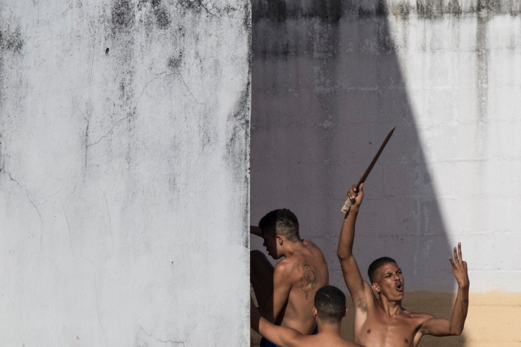 APTOPIX Brazil Prison Killings