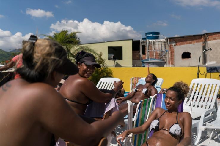Brazil Black Tape Tanning